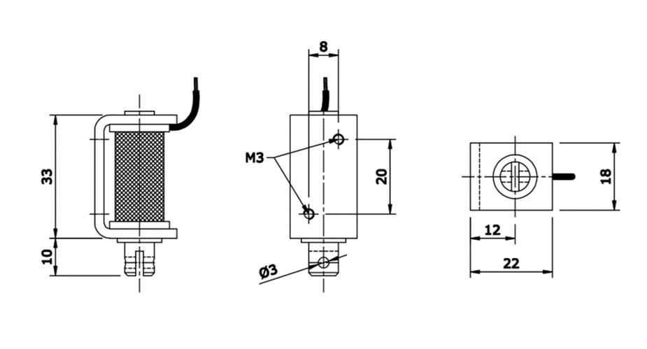 Solenóides Série B30  1